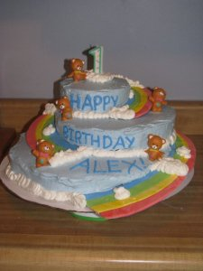 Alex's First Birthday Cake
