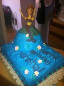 Natasha's 10 year cake.