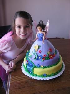 Natasha's 9 year cake.