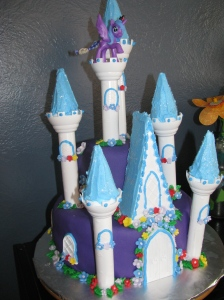 Belle's 9 year birthday cake.