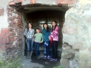 Natasha, Mikayla and Davidson girls somewhere.. not sure where!