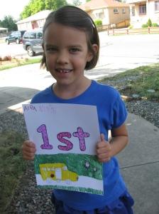 Alex 1st Day of School 2015