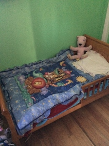 Katherine's new bed!
