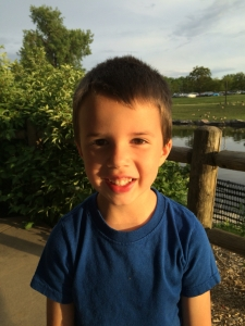 Jonathan while on a mommy son date at the park. June 2016