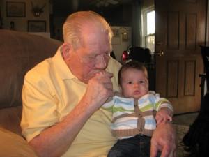 Great grandpa and Jonathan.