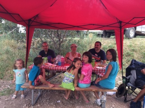 Camping fun with Uncle Andy and Miss Renee June 2016